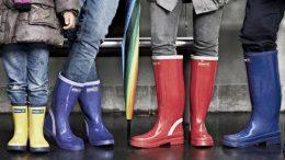 stivali in gomma da pioggia Superga