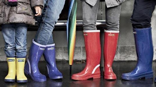 Stivali in gomma da pioggia per donna Casa Calenda