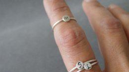 anelli con incisione personalizzata