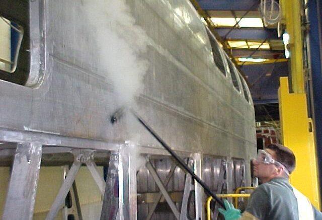 Pulizie a vapore per l'industria